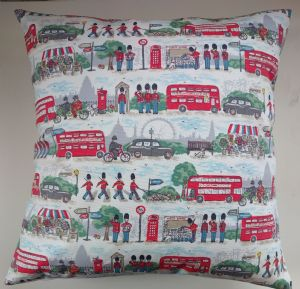 Cushion Cover in Cath Kidston London Streets 16""